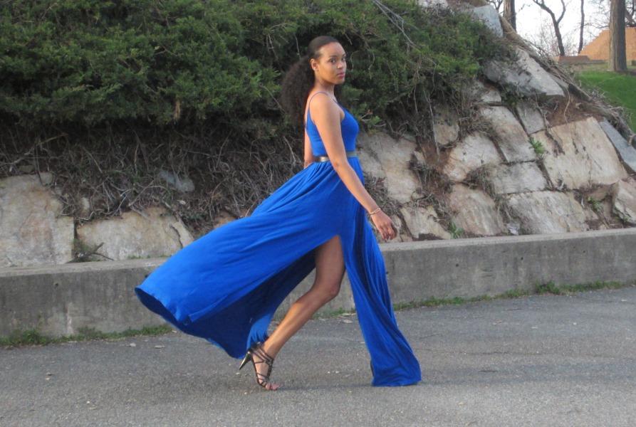 Height Goddess Dress Walk Tall