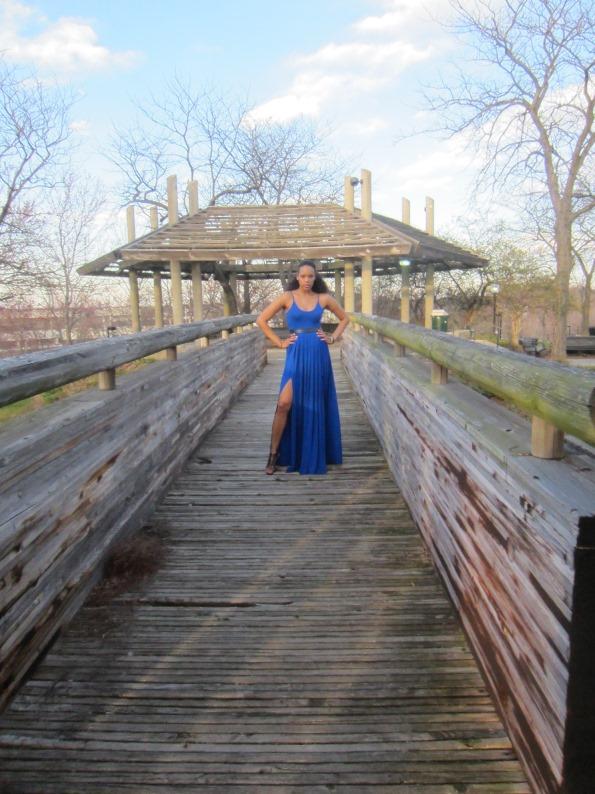 Height Goddess Dress bridge