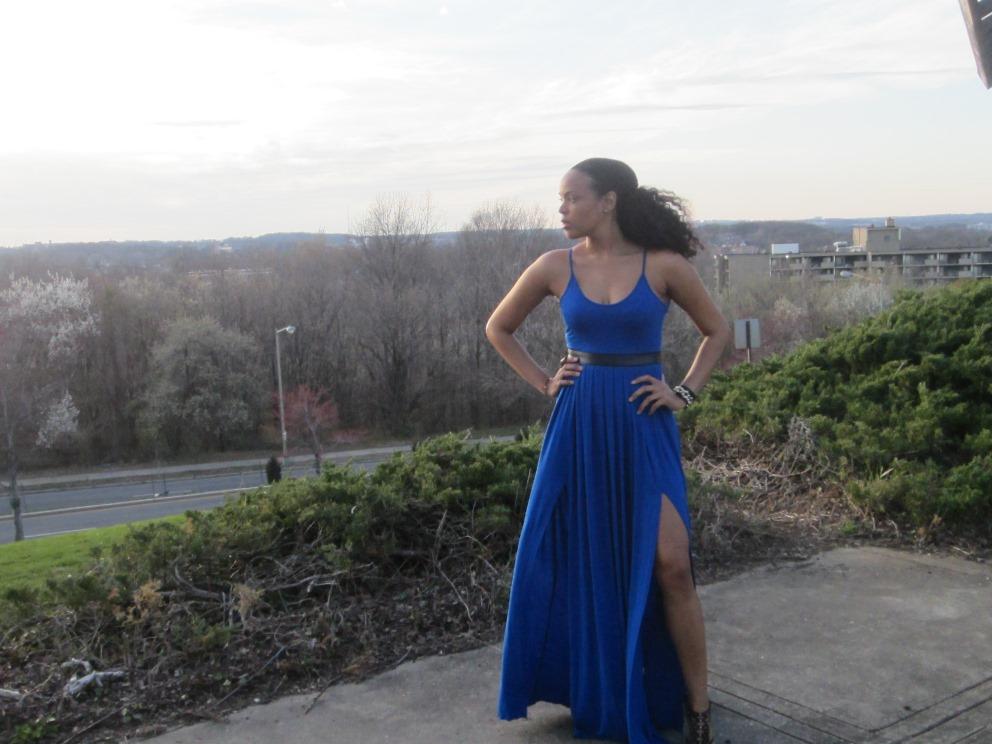 Height Goddess Maxi Dress