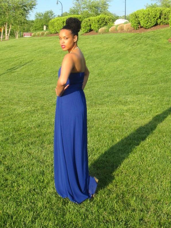 The Tall Muse - ASOS Tall Little Mistress Tall Maxi Dress