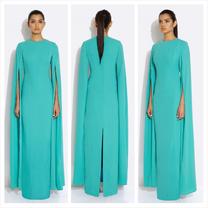 AQAQ Enigma Maxi Dress Aruba Blue