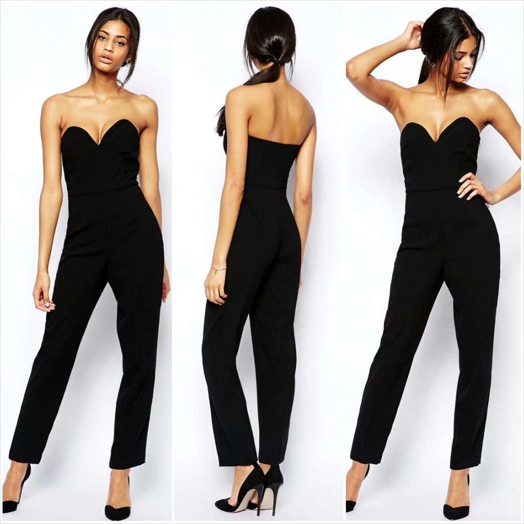 ASOS Tall Jumpsuit with Plunge
