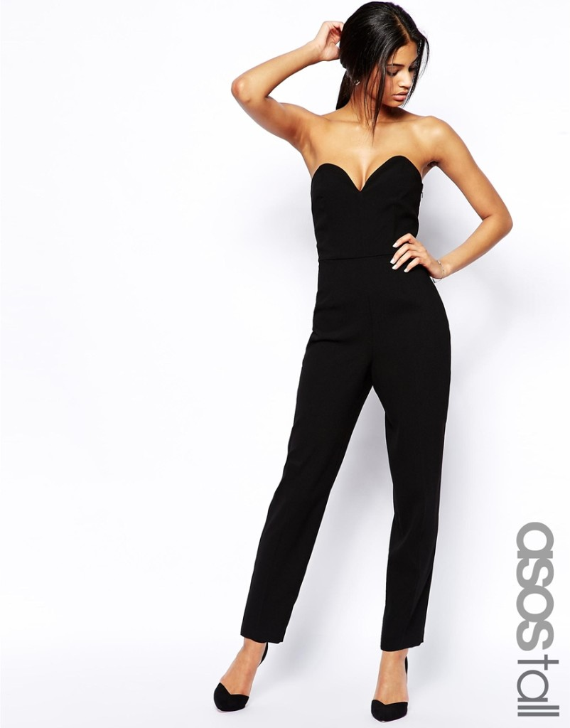 ASOS Tall Jumpsuit with Plunge Front