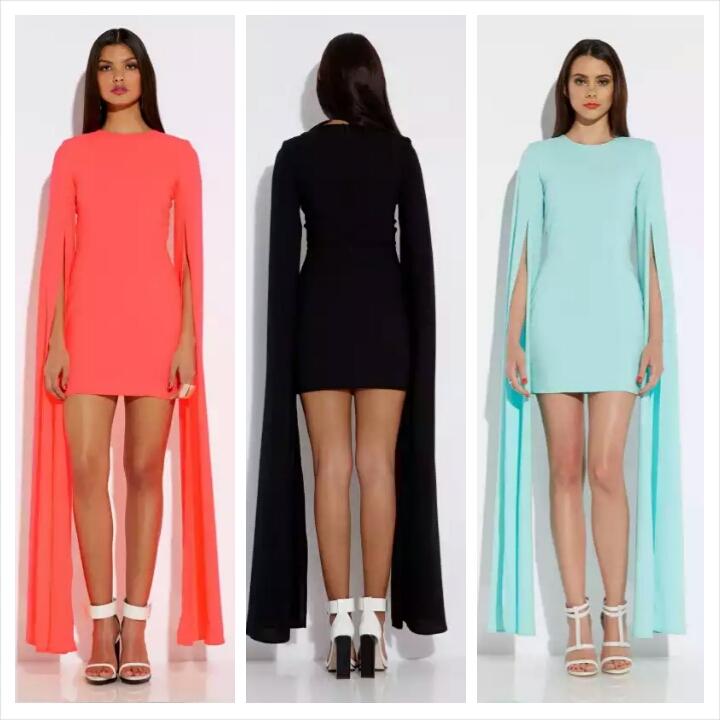 aqaq enigma mini dress