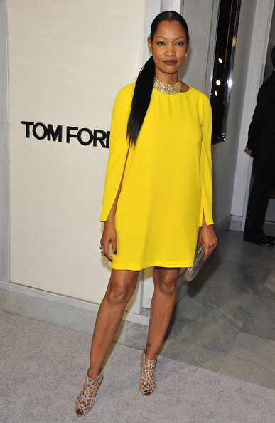 garcelle-beauvais-tom-ford-cocktail-event-in-support-of-project-angel-food-tom-ford-beverly-hills-boutique-zara-cape-sleeve-dress-sergio-rossi-swarovski-crystal-booties