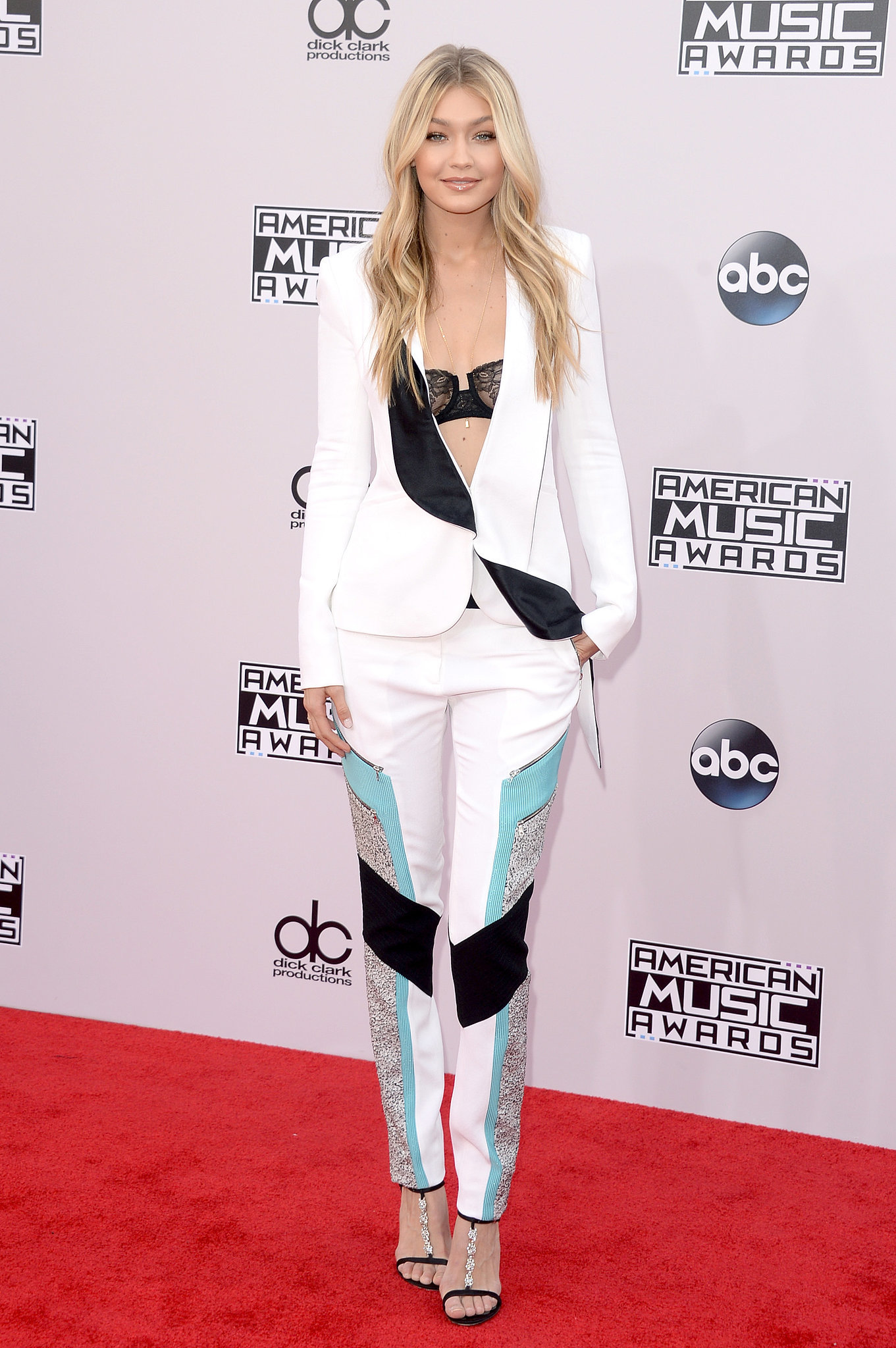 Gigi Hadid 2014 American Music Awards