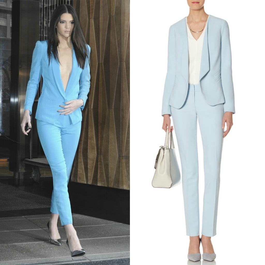 Tall Suits Women Blue