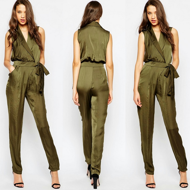 ASOS Tall Utility Wrap Jumpsuit Tall Jumpsui Women