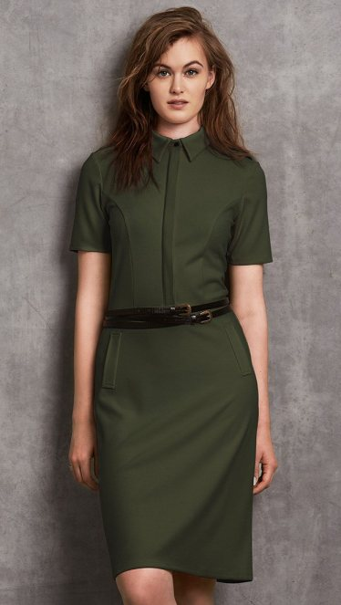 Long Tall Sally Military Shirt Dress