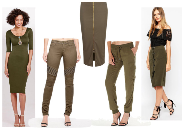 Trend Alert - Army Green Clothing for Tall Women 2