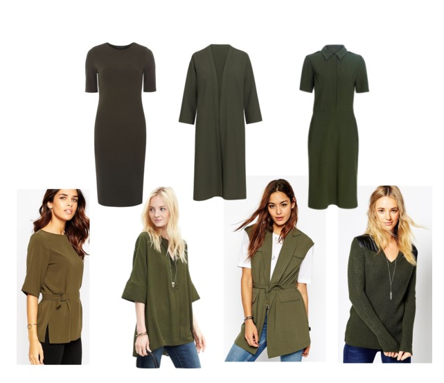 Trend Alert - Army Green Clothing for Tall Women