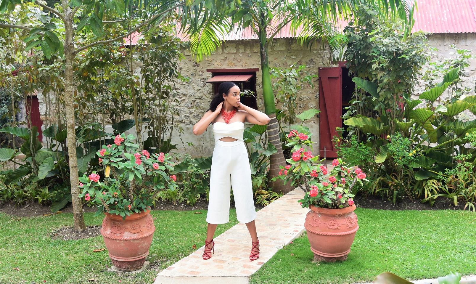 ASOS TALL Premium Occasion Bandeau Jumpsuit The Tall Muse Tall Jumpsuit St Nicholas Abbey Barbados