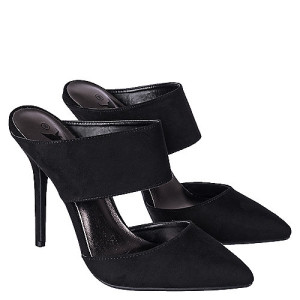 Shiekh Shoes Adora-89 High Heel Black Size 12 Heels Size 11 Heels
