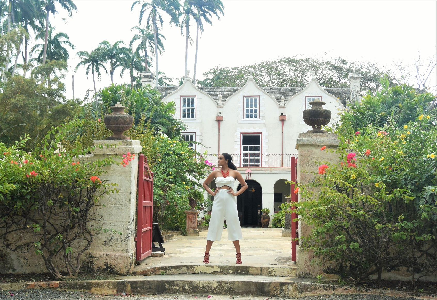 St Nicholas Abbey Barbados The Tall Muse Tall Fashion Tall Jumpsuit