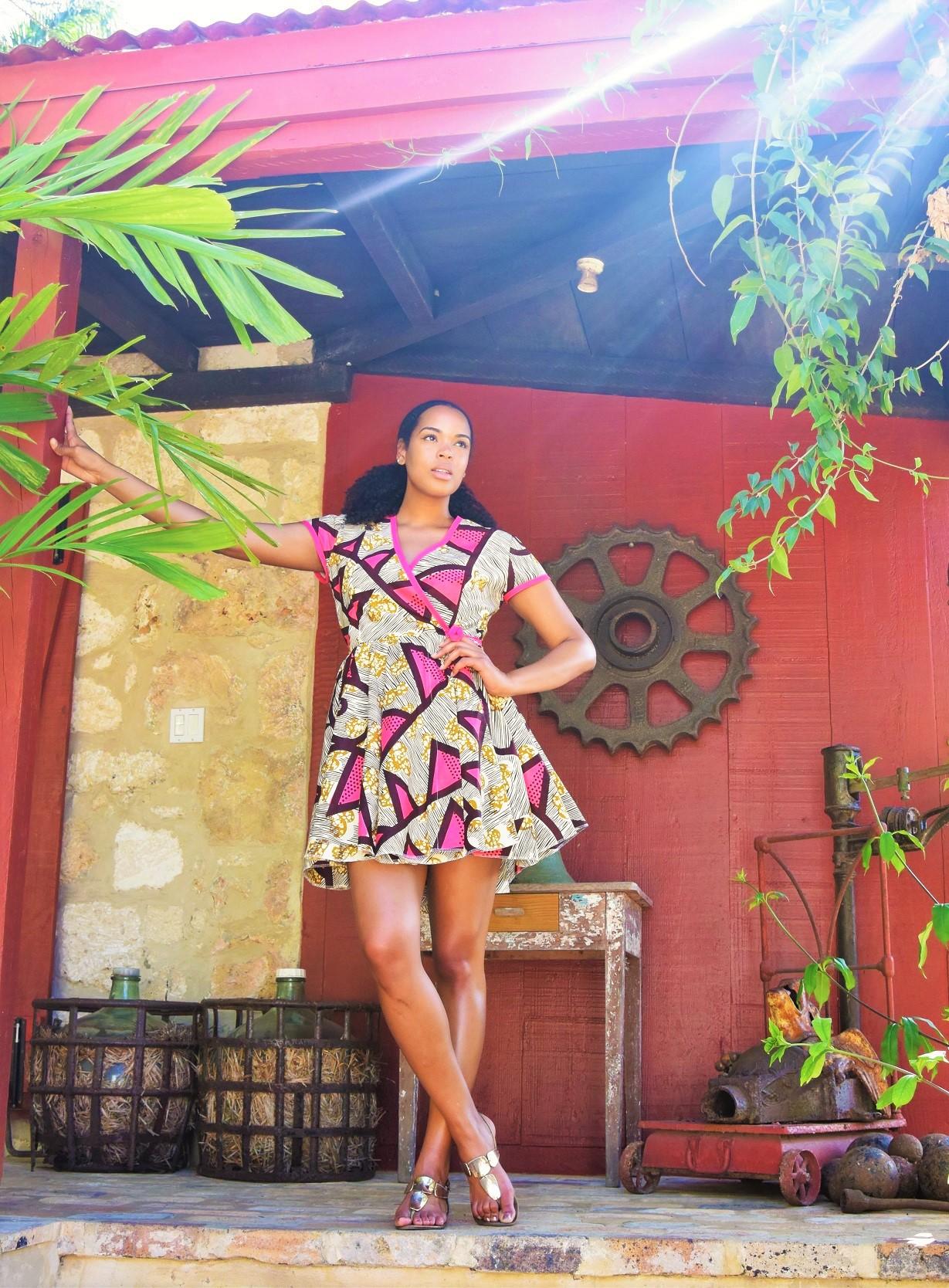 ankara-mini-dress